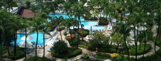 Hyatt Regency Aruba Resort Spa And Casino is one of สถานที่ที่ Eve ถูกใจ.