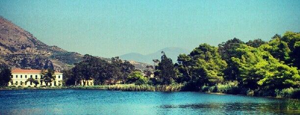Kaiafas Lake is one of Lieux qui ont plu à Meli.