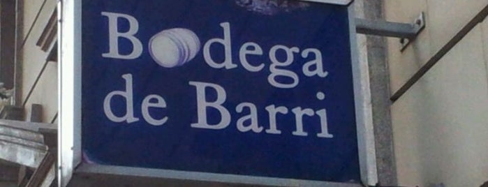 La Bodega de Barri is one of Tapeo en Barcelona.