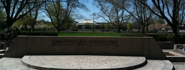 John F. Kennedy Memorial Park is one of Boston in the fall!.