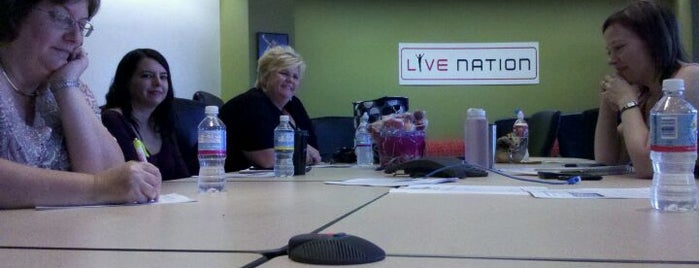 Live Nation Office is one of Hot places.