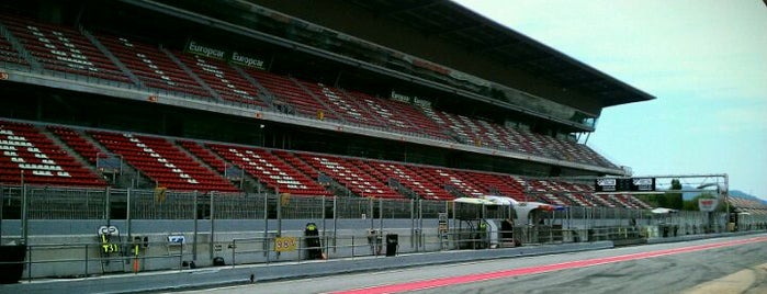 Circuit de Barcelona-Catalunya is one of Formula 1 Tracks.