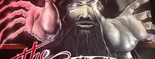 The Grizzled Wizard is one of สถานที่ที่บันทึกไว้ของ Philip.