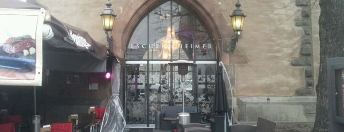 Eschenheimer - Tower Bar Restaurant is one of Barometer Frankfurt 2014 - Teil 1.