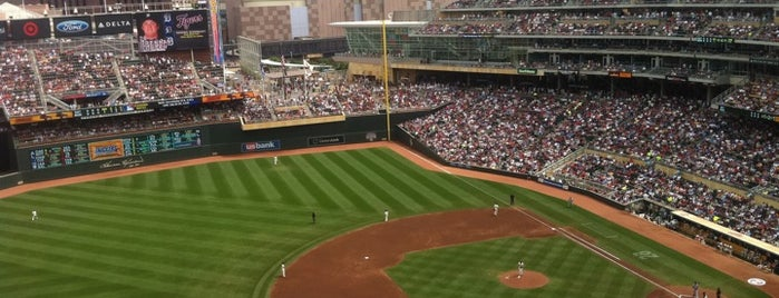 Target Field is one of Minneapolis Stay-cation.