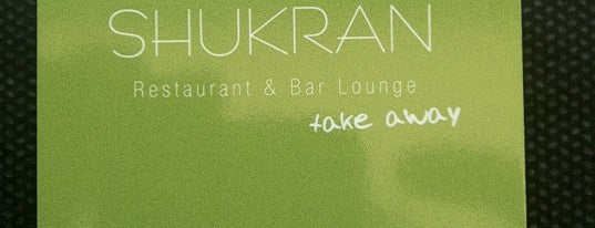 Shukran is one of Restaurantes en Madrid.