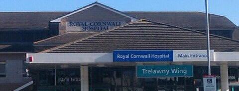 Royal Cornwall Hospital is one of Tempat yang Disukai Johannes.