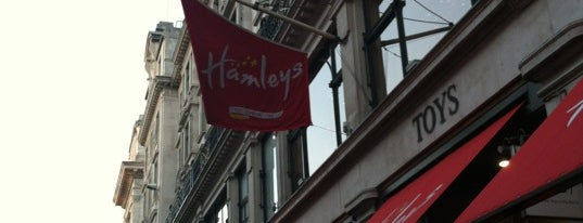 Hamleys is one of Stuff I want to see and redo in London.