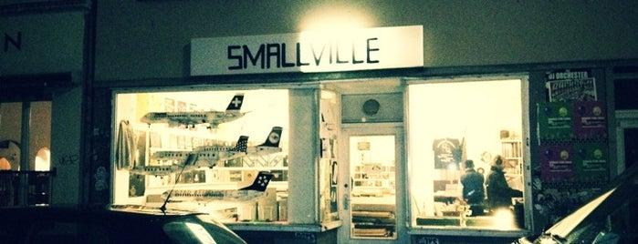 Smallville Records is one of สถานที่ที่บันทึกไว้ของ Julius.