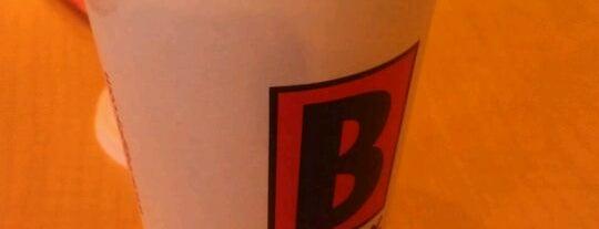 BIGGBY COFFEE is one of Free WiFi.