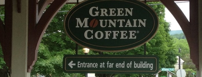Green Mountain Coffee Roasters Cafe & Visitor Center is one of Vermont.