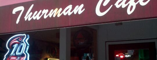 The Thurman Cafe is one of Tempat yang Disukai Jason.