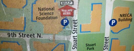 Ballston Quarter Parking Garage is one of Around Town.