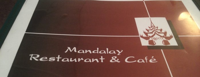 Mandalay Restaurant & Cafe is one of Best Places DC/Metro Area Part 1.