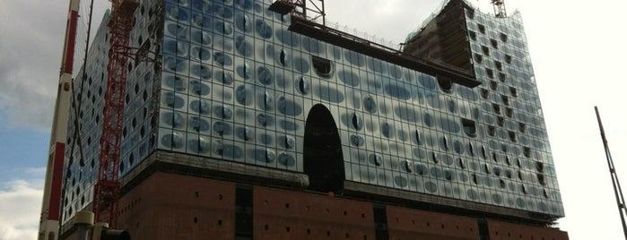 Elbphilharmonie is one of StorefrontSticker #4sqCities: Hamburg.