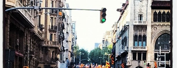 Via Laietana is one of - BCN Street -.