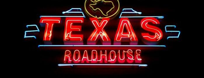Texas Roadhouse is one of Orte, die Travis gefallen.