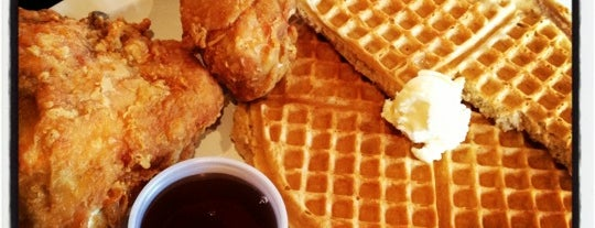 Chicago's Home Of Chicken & Waffles is one of Black-owned restaurants in Chicago.