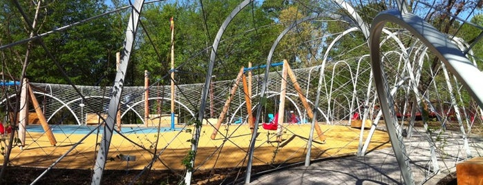 Woodland Discovery Playground @ Shelby Farms is one of Memphis Family Fun.