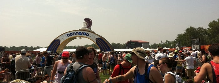 Bonnaroo Music & Arts Festival is one of Some of My Favorite Music Venues.