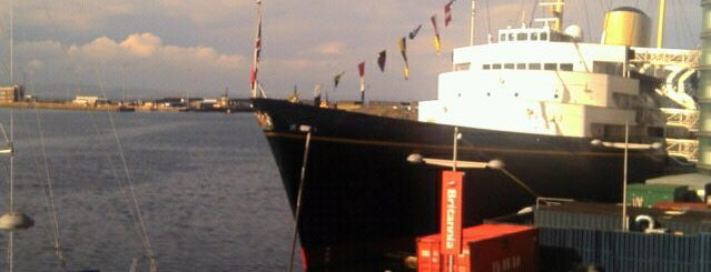 The Royal Yacht Britannia is one of Edinburgh - to do.