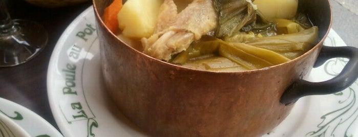 La Poule Au Pot is one of french restaurants.