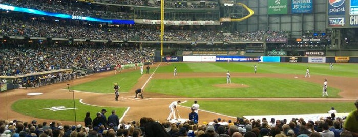 Miller Park is one of Baseball Stadiums.