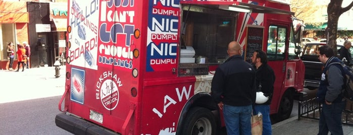 Rickshaw Dumpling Truck is one of Our Favorite Food Trucks!.