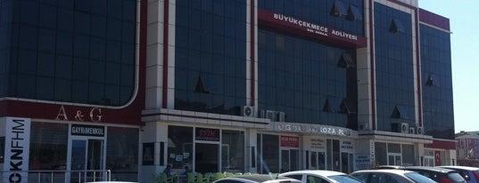 Büyükçekmece Adliyesi Ek Bina is one of İstanbul Adliyeleri.