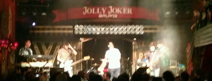 Jolly Joker Beyoğlu is one of Squirrel the Freshman.