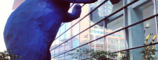 Big Blue Bear (I See What You Mean) is one of Places To Visit.