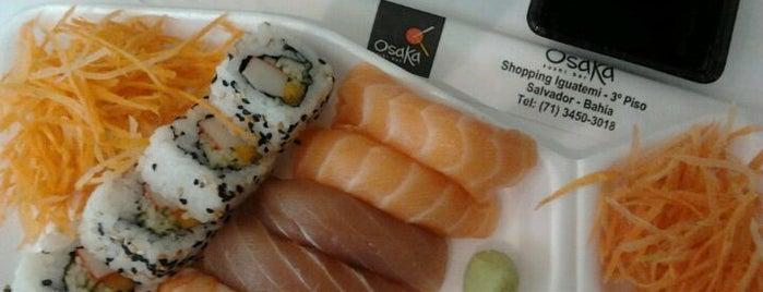 Osaka Sushi Bar is one of VAMOS LA.....