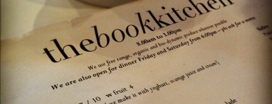 The Book Kitchen is one of Sydney Cafes.