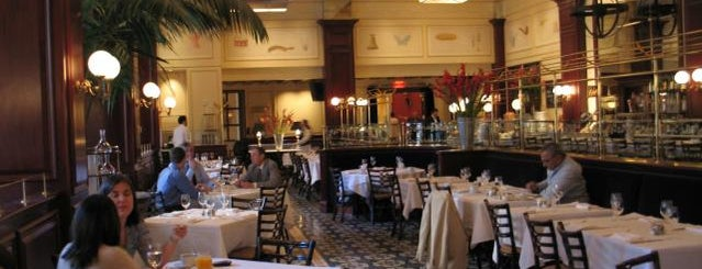 Bouchon Bistro is one of Michelin Starred.