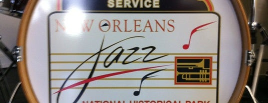 New Orleans Jazz National Historical Park is one of National Park Service Sites.