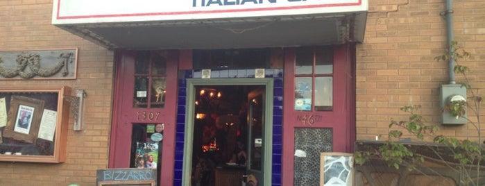 Bizzarro Italian Cafe is one of Seattle.