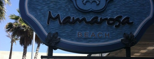 Mamarosa Beach is one of Restaurantes de nivel en Barcelona.