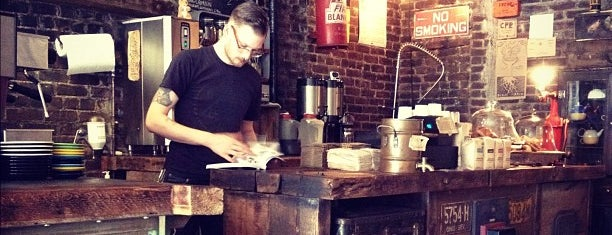 Black Brick is one of Brooklyn Places to Try.