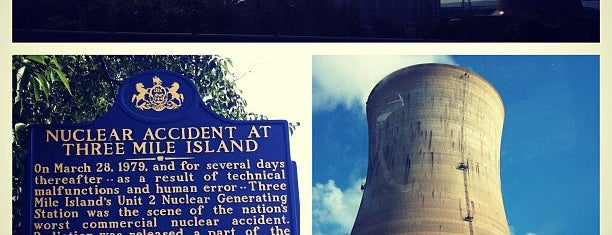 Three Mile Island is one of Landmarks, Historical Sites, Parks and Museums.