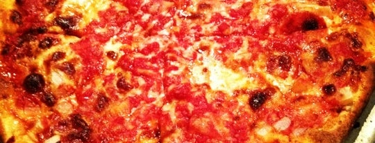 Santarpio's Pizza is one of Food We Love!.