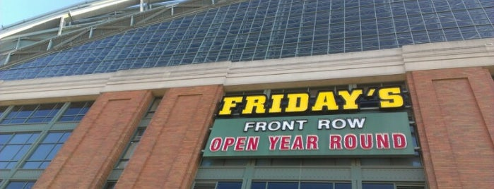 TGI Fridays is one of Patio Pounders.