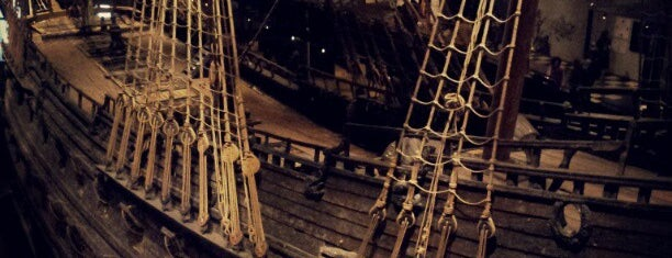Vasamuseet is one of Ships (historical, sailing, original or replica).