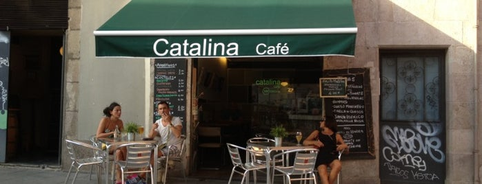 Catalina Café is one of Brunch en Barcelona.