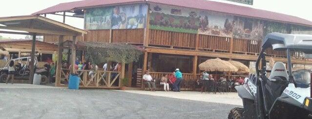La Cabaña Safari is one of Food and Bars.