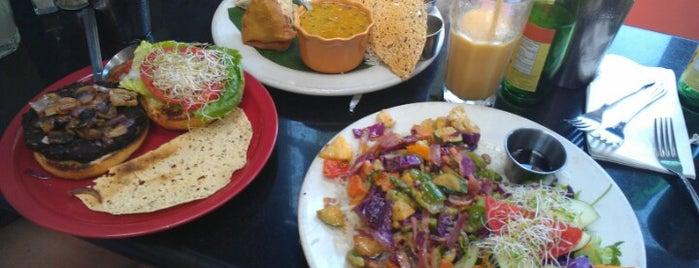 Cosmic Cafe is one of Gr8 Vegan Veggie Spots in DFW.