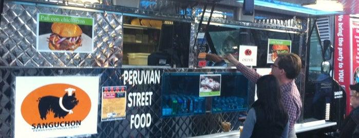 Sanguchon Food Truck is one of Lieux sauvegardés par Chrissy.