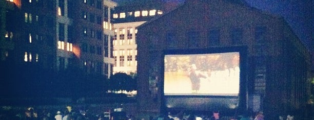 Capitol Riverfront Outdoor Movie is one of Summer in DC.