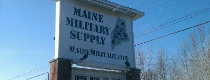 Maine Military Supply is one of Posti che sono piaciuti a Dana.
