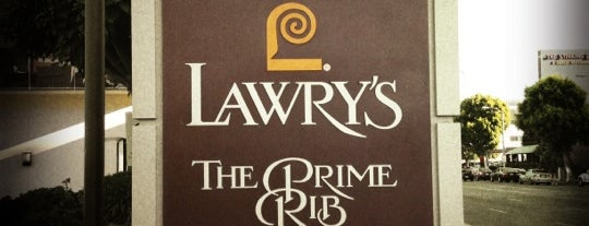 Lawry's The Prime Rib is one of Around the World - Noms.