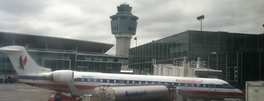 LaGuardia Airport (LGA) is one of AIRPORT.